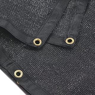 e.share 90% Black Shade Cloth 20ft x 40ft Heavy Duty Shade Mesh Tarp