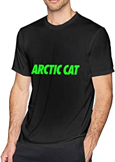 Mens Vintage Arctic Cat Cool Cat T Shirt Black