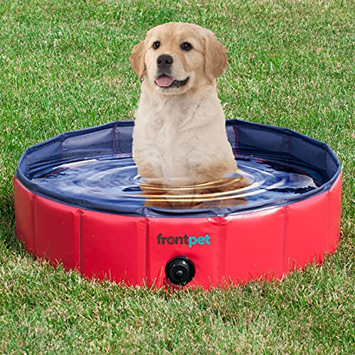 3. Best for Small Breeds: FrontPet Foldable Bathing Tub