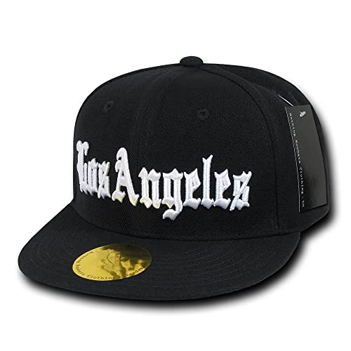 908eeda3bf6 Nothing Nowhere Old English City Los Angeles Snapbacks