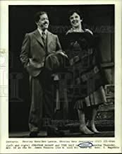 Vintage Photos 1990 Press Photo Jonathan Hadary and Tyne Daly act in Gypsy Musical