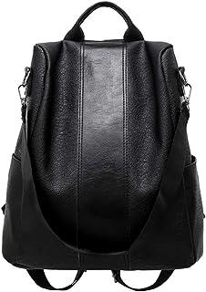 Women's Shoulder Handbags, Travel Backpack,Messenger Bags, Casual Daypack Backpacks,Crossbody Bags,Women Anti-Theft Waterproof Backpack PU Leather Large Shoulder Bag