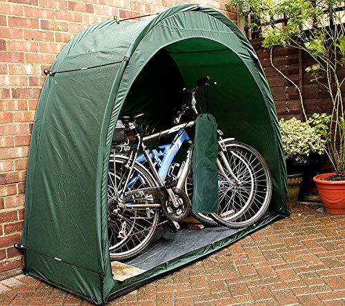 GFKD Tienda de Bicicletas, Bicicletas cobertizo de Almacenamiento a Prueba de Polvo y Resistente al Agua Cubierta para el Patio Trasero de excursión Que acampa al Aire Libre