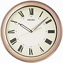 Seiko Wall Clock (32 cm x 32 cm x 4.5 cm, Beige, QXA916PN)