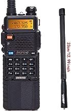 BaoFeng UV-5R 8W High Power Tri-Power 1W/4W/8W Portable Dual Band Two-Way Radio 3800mAh Battery with 13.3inch ABBREETacti...