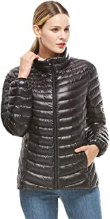 Women's Down Jacket Lightweight Packable Puffer Down Coats Winter Outerwear