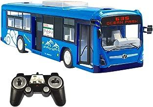 Sound beweglichen Türen und Hupe in BLAU RC Bus E635 1:32 2,4GHz mit Licht