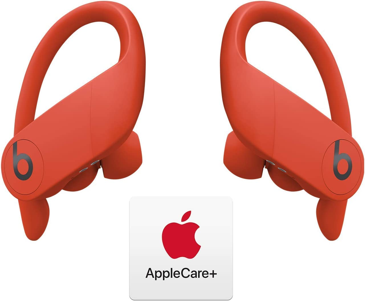 Powerbeats Pro Totally Wireless Earphones - Apple H1 Chip - Lava Red with AppleCare+ Bundle