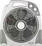Argoclima Aster Ventilatore Box con Comoda Maniglia, 3 Velocità, Silenzioso, Diametro 30...
