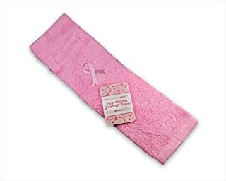 Fundraising For A Cause Breast Cancer Awareness Pink Ribbon Football Towel