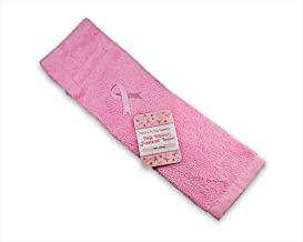 Breast Cancer Awareness Pink Ribbon Football Towel