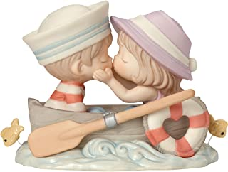 Precious Moments 162002 You're The Only Fish In My Sea, Bisque Porcelain Figurine