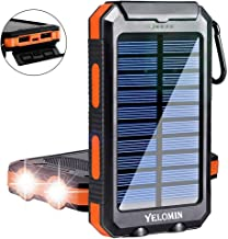 Solar Charger,Yelomin 20000mAh Portable Outdoor...