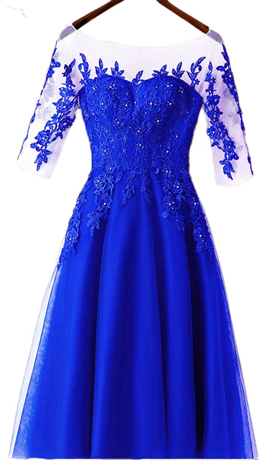 Beilite Long Evening Prom Dress ALine Tulle Bridesmaid Dress Appliques Beads