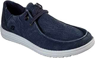 Skechers Mens 66387 Melson-Raymon Canvas Slip on