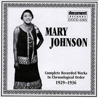 Mary Johnson 1929-1936