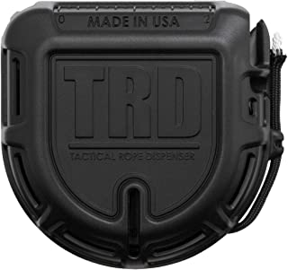Atwood Rope MFG TRD Paracord Rope Dispenser, Black, 50ft Spool