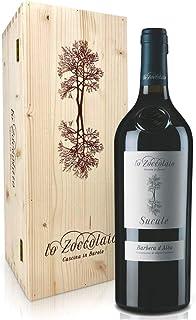 Lo Zoccolaio - Vino Rosso - Barbera d'Alba DOC Superiore Suculè + Cassa Legno 1 X 750 ml