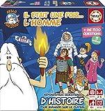 Educa Disney Mini Etait Une Fois… L' Homme. Jeu de Plateau Éducatif. À partir de 6 Ans. Ref. 17353, Gris