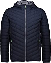CMP Heren Melange hoodiejas, black blue, 60