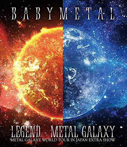 「LEGEND - METAL GALAXY (METAL GALAXY WORLD TOUR IN JAPAN EXTRA SHOW)」[Blu-ray] (通常盤)