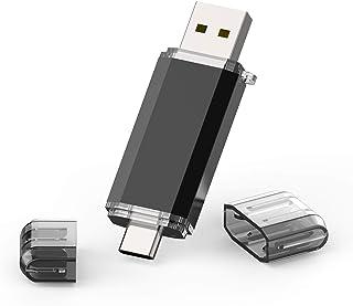 comprar comparacion TOPESEL 64GB Memoria USB 3.0 Tipo C Dual OTG Flash Drive USB C Pendrives Llave Portátiles para Samsung Galaxy S8, S8 Plus,...