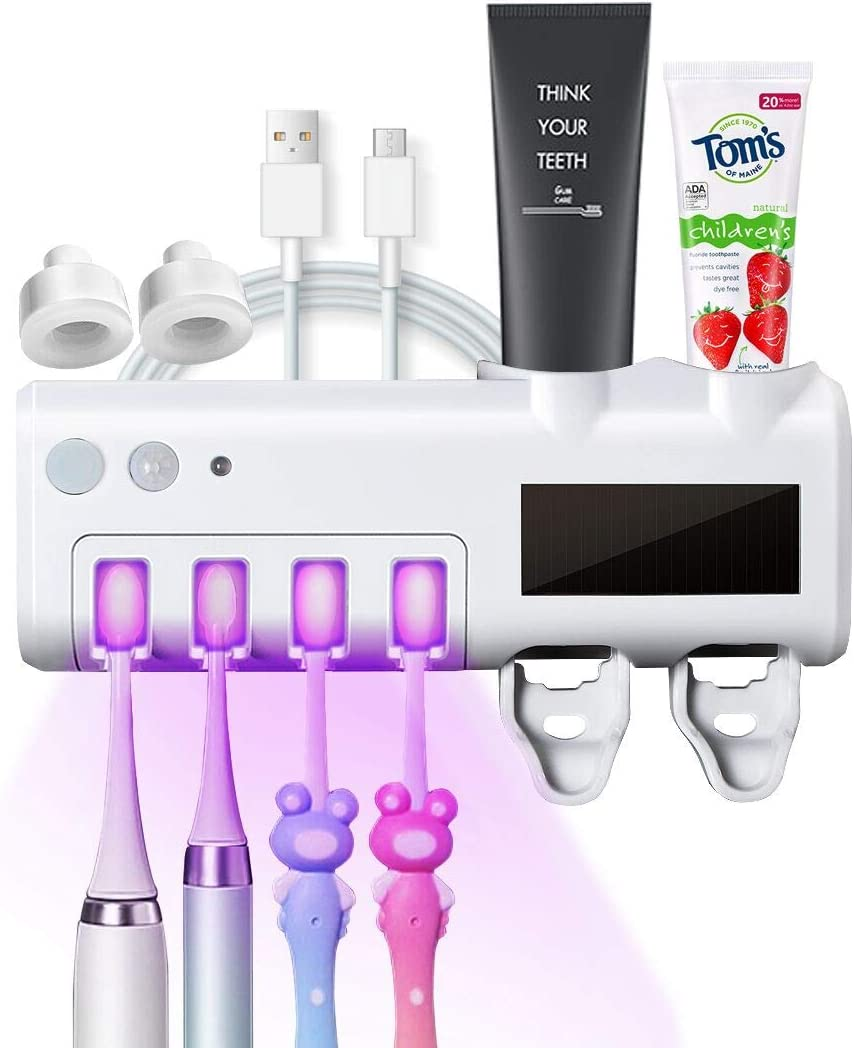 SmartSF Translated Toothbrush Sanitizer Cheap super special price UV Holder Mounted Wall