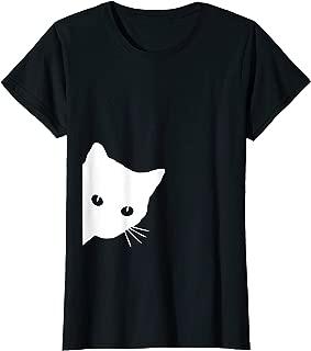 Womens Cat Lover Ladies T-Shirt, Cat Mom Spy Cat