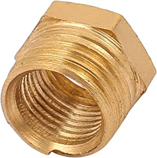 Aexit 1/4PT to Electrical equipment 1/8PT Male/Female Thread Air Hose Tube Fittings Hex Head Socket Pipe Adapter Caps