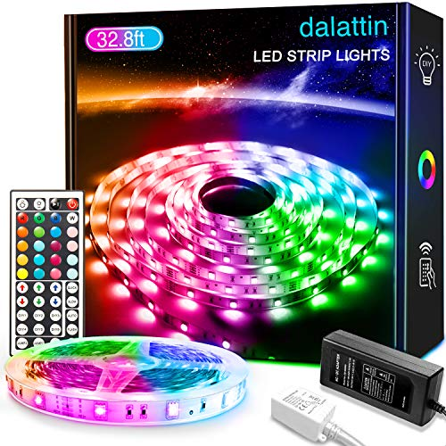 32.8ft Led Lights dalattin Led Strip Lights Color ...