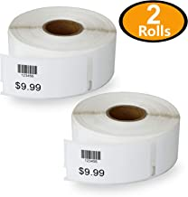 2 Rolls DYMO 30373 Compatible 7/8