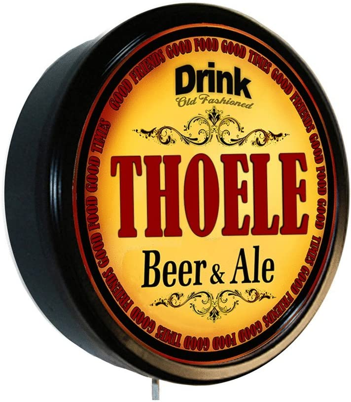Goldenoldiesclocks THOELE Beer Nippon regular Our shop most popular agency and Ale Cerveza Lighted Sign Wall