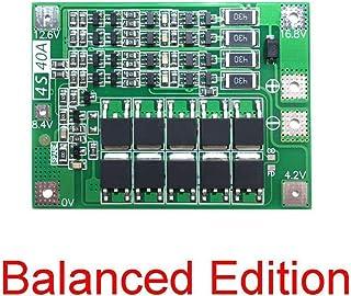Schutzplatine 0S 36V 30A Li-Ion-Zelle 18650 BMS PCB Batterie-Schutzplatte Mit Balance-Funktion F/ür Elektroauto//Elektrisches Hilfskraftfahrzeug//Skateboard-Auto//Inverter
