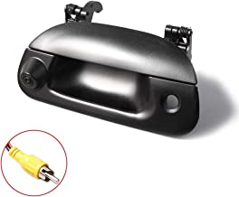 EWAY Tailgate Handle Backup Rear View Camera for Ford F150 1997-03 / Super Duty F250 F350 F450 1999-2000 / Explorer Sport Trac 2001-05 / Lobo 2001-03 Waterproof Reverse Night Vision Backing Cameras