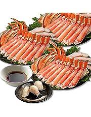 ズワイガニ シメまで楽しめる かにすき雑炊セット カニ 蟹 かに ギフト【蟹卸直売店 TMフーズ】 (総重量3kg)