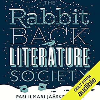 The Rabbit Back Literature Society audiobook cover art