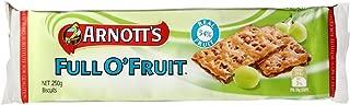 Australian Arnott's Full-O-Fruit 250g.