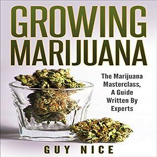 Growing Marijuana audiobook cover art