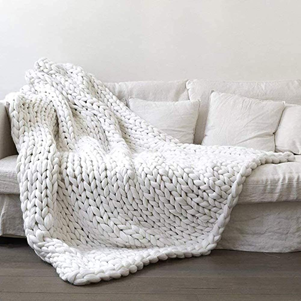 Ranking TOP13 WYJ Giant Outlet ☆ Free Shipping Knit Blanket Handmade Bulk Acrylic Chunky