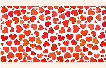 I-love-Wandtattoo Cenefa Autoadhesivo coraz/ón de p/úrpura Ni/ñas Habitaci/ón Arte de la Pared pegati