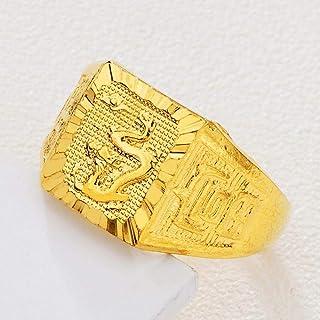 Lozse Anelli regolabili Aperto regolabile anello in ottone placcato oro allergia anello regalo di compleanno per amico di ...
