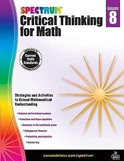 Spectrum Critical Thinking for Math, Grade 8