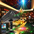 Party Lights Dj Disco Lights GEELIGHT Sound Activated Stage Effect Projector Strobe Lights with Remote Mini Karaoke for Birthday Parties Wedding KTV Bar Dancing Christmas Halloween Decorations Light