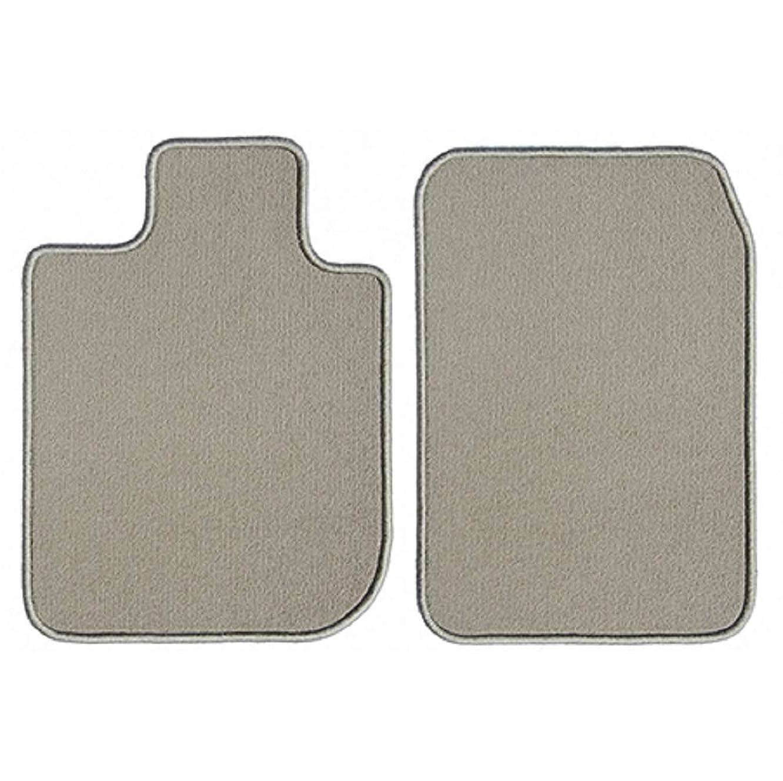 GGBAILEY Acura ZDX 2010, 2011, 2012, 2013 Beige Loop Driver & Passenger Floor Mats