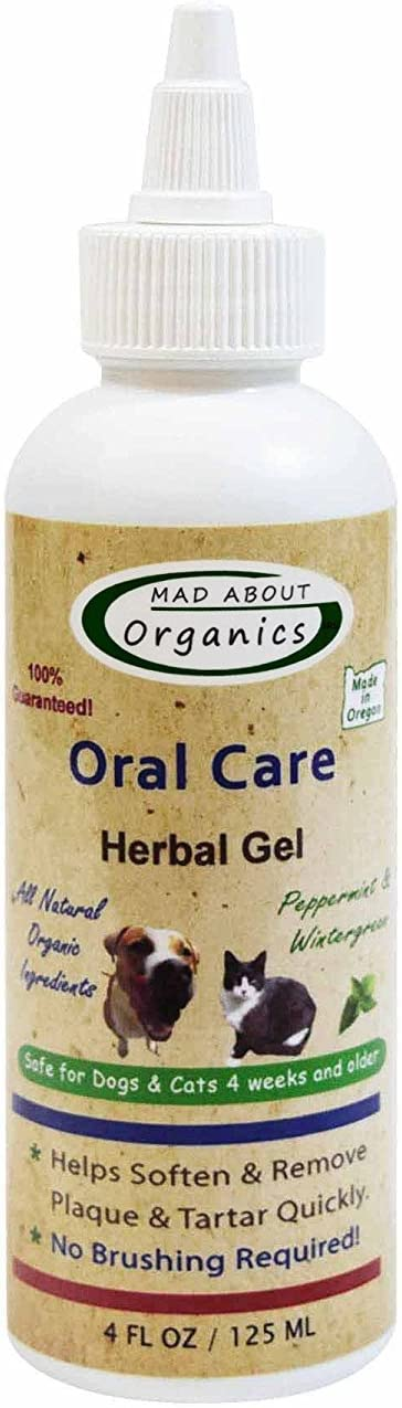 Mad About Organics Oral Care Herbal Gel 4oz