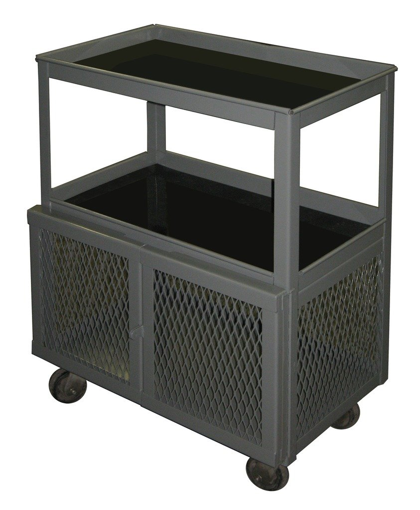 SECURALL Mobile Ranking TOP8 Shop Cart with Padlock Hasp Tier 35 36 Minneapolis Mall 1 3 x 2