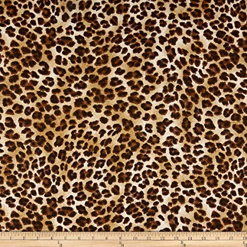 Premier Prints 0362816 Amazon Leopard Sand Fabric by the Yard