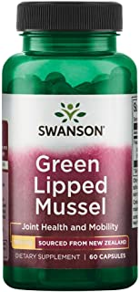 Best Swanson Green Lipped Mussel (Freeze Dried) New Zealand Joint Health Supplement 500 mg 60 Capsules Review
