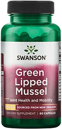 New Zealand Green Lipped Mussel 500 mg 60 Caps 1 Pack by Swanson