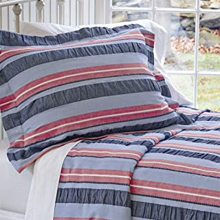 Orvis Tri-Color Stripe Seersucker Bedspread/Twin